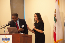 NELSON DAVIS AND DAWN MARCHAND OF WALT DISNEY SUPPLIER DIVERSITY AND SUSTAINABILITY GROUP